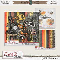 Gothic Romance Bundle [franb-gothicrombun] - $3.75 : Scraps N Pieces Store