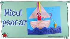 Cum sa faci un colaj cu barcuta si pescar 🎣🚣♂⛵ How to Make a Collage with a Boat and a Fisherman Crafts For Kids, Christmas Ornaments, Holiday Decor, How To Make, Home Decor, Crafts For Children, Decoration Home, Kids Arts And Crafts, Room Decor