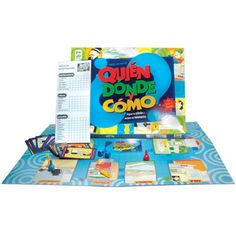 Another game I bought. Spanish classroom. It's like 'Clue'