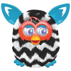 Furby Boom - Black/White Zigzag Stripes #Roboform and #MyDearSantaWishList