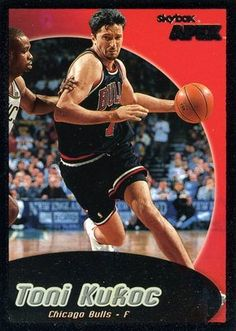 RARE 99/00 SKYBOX APEX TONY KUKOC CHICAGO BULLS MINT