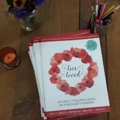 10 Pack of Live Loved: Adult Coloring Books