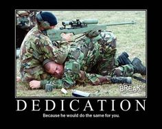 military motivational posters...love it