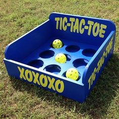 Tic Tac Toe Carnival Game for VBS or School Party