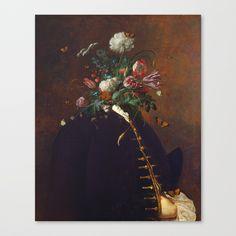 Flower Facade Canvas Print by boxfox Buy Flowers, Canvas Prints, Art Prints, Surrealism, Facade, Modern Art, Surreal Artwork, Photoshop, Wall Art