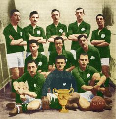 Panathinaikos of Greece team group in Greece Pictures, Old Pictures, Sports Clubs, Pride, Faith, Football, Retro, Painting, Soccer Teams