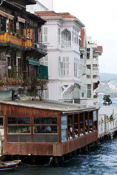 Dining on the Bosphorus