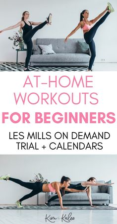Looking to start your fitness journey?  You'll love LES MILLS for beginners workouts that you can do at home! Keep reading to find a plan that works for you!