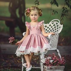 Kids Baby Flower Girls Dresses Pageant Birthday Party Wedding Bridesmaid Gown Wear your summer outfits for your baby, not for others. Baby Girl Party Dresses, Little Girl Dresses, Baby Dress, Girls Dresses, Dress Party, Formal Bridesmaids Dresses, Pageant Dresses, Flower Dresses, Kids Fashion