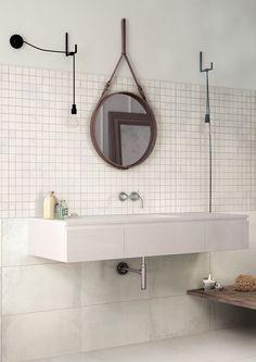 La Fabbrica Ceramiche - VELVET Collection - www.lafabbrica.it -  #texture #bathroom #mirror