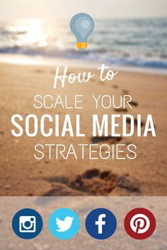 How to scale your social media strategies to grow your social media platform from a top social media strategist managing a large client base.