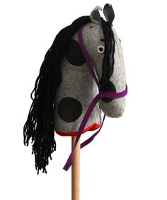 Hase Weiss Hobby-Horse - Red Bridles Family Nation