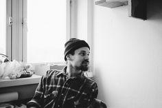 Montag, 09.03., 11:40 Uhr – Oberschöneweide, Funkhaus: Werkstattbesuch bei Jonas von Accidental Concrete, unserer kleinen, geilen Firma #23. © Milena Zwerenz
