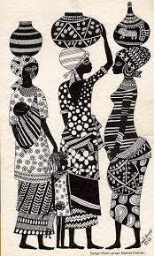 Image result for african tribal dance paintings