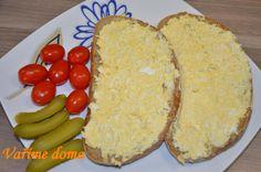 Vajíčková pomazánka | Vaříme doma Dairy, Bread, Cheese, Food, Meals, Breads, Bakeries, Yemek, Patisserie