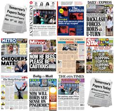 #TomorrowsPapersToday - Twitter Search / Twitter Spy Weapons, The Daily Telegraph, Freedom Day, Newspaper Headlines, U Turn, Daily Express, Financial Times, Staycation