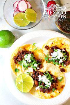 Gastronomía Mexicana - Tacos de chorizo✿⊱╮
