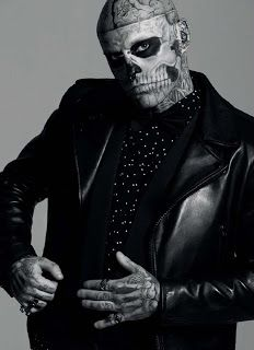 Fashion Spotlight:: Rick Genest by Sylvain Blais
