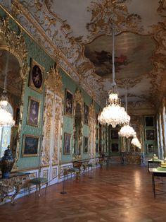 Imperial Residenz interior , Munich , Baviera , Germany - 5 Juanary 2015