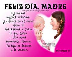 Feliz DIA Mama Fraces Crstianas | Feliz Día, Madre Postal Cristiana. Feliz día de las madres 12 mayo ...