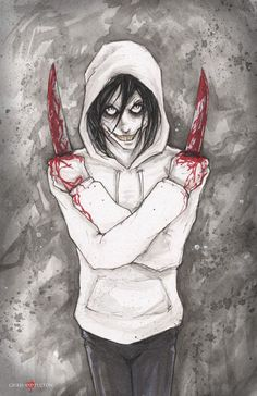 Jeff The Killer Creepypasta by ChrisOzFulton.deviantart.com on @DeviantArt