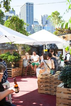 Urban Coffee Farm and Brew Bar / HASSELL what a great idea repinned by www.claudiadeyongdesigns.com