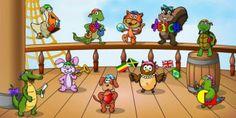 Τα παιδιά αναπτύσσουν τις γλωσσικές τους δεξιότητες παίζοντας στο «Αερόστατο» της μάθησης