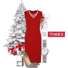 """""""Timeless With Timex"""" by jenlynn59 on Polyvore"""