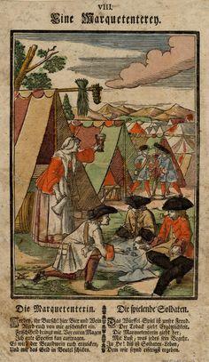 Markietanka: Markietanki w XVII wieku