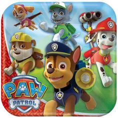 Celebrate their birthday with a PAW Patrol Tableware Party Kit for 16 Guests! This PAW Patrol kit includes plates, napkins, cutlery, and a PAW Patrol birthday banner. Paw Patrol Party Supplies, Kids Party Supplies, Paw Patrol Birthday, Boy Birthday, Birthday Ideas, Birthday Parties, Birthday Celebration, Birthday Cakes, Happy Birthday