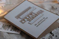 Weihnachtskarte handgefertigt Framed Scrapbook Paper, Short Messages, Paper Frames, Handmade Christmas, Holiday Cards, Cardmaking, Christmas Holidays, Birthday Cards, Greeting Cards