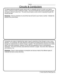 electricity circuits worksheets 5 years girls and worksheets. Black Bedroom Furniture Sets. Home Design Ideas
