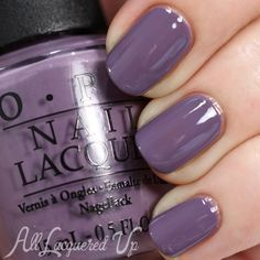 OPI Hawaii Spring 2015 Swatches and Review OPI Hello Hawaii Ya? is a greyed plum creme. It's like Parlez Vous OPI's darker, less pink sibling. Like the other cremes, so far, the application is a breeze, requiring just two coats.