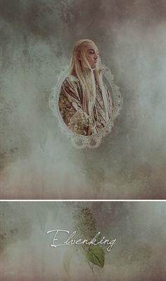 Thranduil: Elvenking #thehobbit