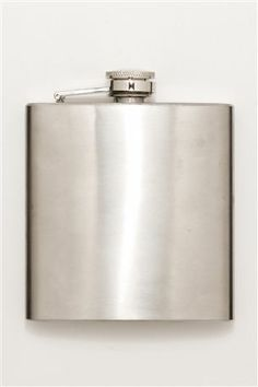 """Buy Metal Hip Flask from the Next UK online shop After he might not need this filled but then again he might! Lol Thinking to also engrave it with his name and the date Of - """"The Big Moment"""" X"""