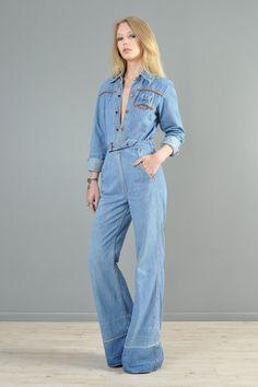 vintage 70s Jeans - Sergio Valente High Waist Straight Leg Blue ...