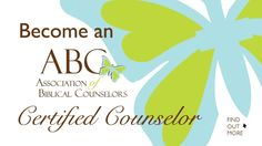 This organization offers different levels of certification for those not looking to become a professional biblical counselor but looking to disciple effectively.
