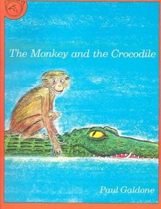 In this colorfully illustrated Indian fable, a young crocodile and a very agile monkey match wits