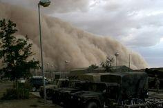 Incríveis fotos de tempestade de areia | #Jmj, #TempestadeDeAreia