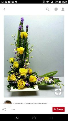 Funeral Floral Arrangements, Large Flower Arrangements, Flower Arrangement Designs, Ikebana Flower Arrangement, Wedding Alter Flowers, Altar Flowers, Funeral Flowers, Arte Floral, Artificial Flowers