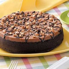 Chocolate candy bar cheesecake Recipe