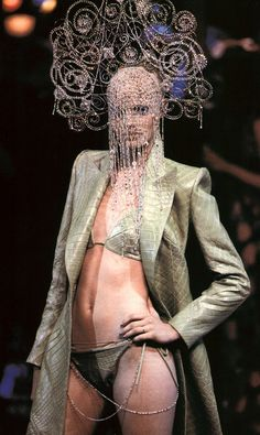 Givenchy Haute Couture by Alexander McQueen S/S 2000