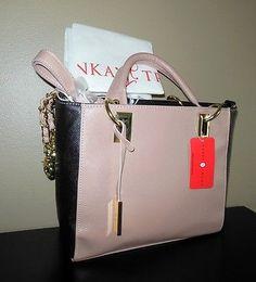 NWT Ivanka Trump Handbag Shoulder Purse w/ Cover Bag Gold Tone Trim RETAIL $150 Designer Totes, Ebay Auction, Ivanka Trump, Shoulder Purse, Michael Kors Jet Set, Retail, Handbags, Tote Bag, Purses