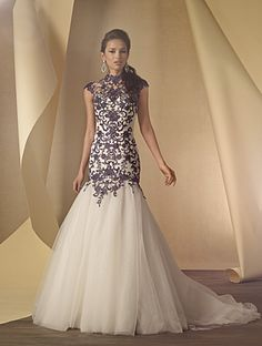 Alfred Angelo Bridal Style 2454 from Alfred Angelo's Bridal Collections & Wedding Styles Wedding Dress Pictures, Wedding Dress Styles, Bridal Dresses, Wedding Gowns, Lace Wedding, Damask Wedding, 2017 Wedding, Women's Dresses, Wedding Attire