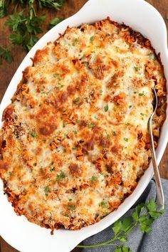 Spicy Lasagna Hotdish