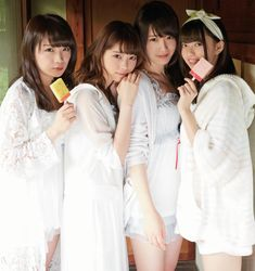 Nanase Nishino × Kazumi Takayama × Asuka Saito × Manatsu Akimoto - SPA!