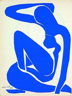 Henri Matisse Nu Bleu 1952 Blue Nude Cut Outs Retro Vintage Poster Art Print & Art Prints, Framed Art, Abstract Artists, Blue Wall Art, Picasso Paintings, Henri Matisse, Abstract Art, Framed Art Prints, Posters Art Prints