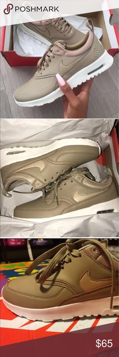 UA Nike Air Max Thea Premium 504 ONLINE STORE 🌎 www.504onlinestore.com  •All of our shoes run true on the size •UA Quality •Facebook page: 504 Online Store • Free Shipping in US (12-15 days)  💸 Get $10 when you subscribe to the website's newsletter and purchase with promo code: 504Discount$10 Nike Shoes Athletic Shoes