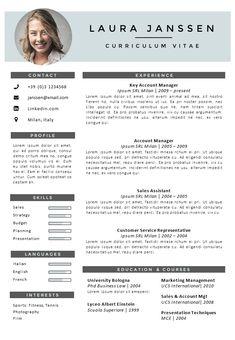 CV Template Oxford | Pinterest | Cv template, Cover letter template ...
