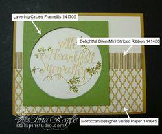 Stampin' Up! Heartfelt Sympathy stamp set, Stampin' Studio
